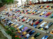 foto of pranayama  - over crowded yoga class - JPG