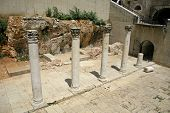 stock photo of cardo  - columns in cardo - JPG