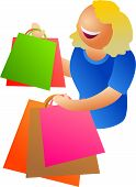 Happy Shopping poster
