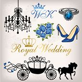 stock photo of carriage horse  - Royal Wedding - JPG