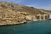 pic of mosk  - small village in Malta at gozo island - JPG