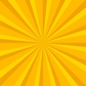 Rays Background. Illustration For Your Bright Beams Design. Sun Ray Theme Abstract Wallpaper. Raster poster
