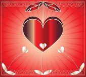 Постер, плакат: вектор красивых сердца