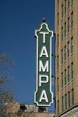 Tampa Sign poster