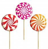 picture of lollipops  - lollipops - JPG