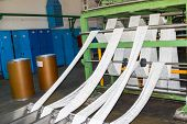 Production Process Of White Synthetic Acrylic Fiber Production At The Petrochemical Plant poster