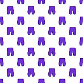 Shorts For Cyclists Pattern. Cartoon Illustration Of Shorts For Cyclists Pattern For Web poster