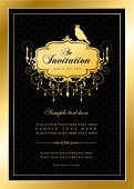 stock photo of dinner invitation  - Invitation card - JPG