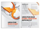 picture of booklet design  - vector business brochure  - JPG