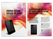 picture of brochure design  - vector business brochure - JPG