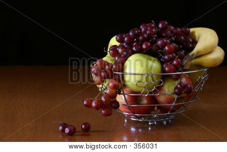 Grapes Spilling Over