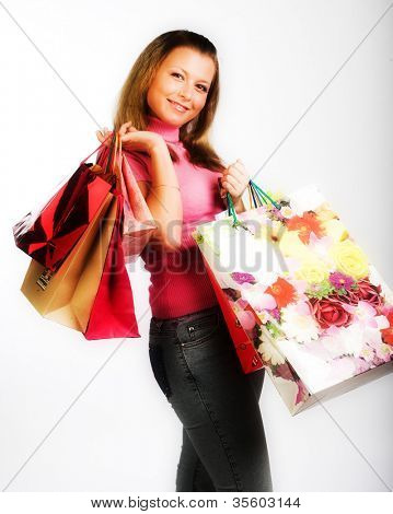 shoping girl