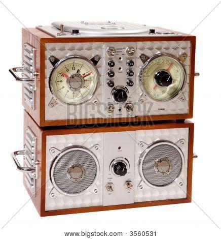 Sintonizador de Radio viejo