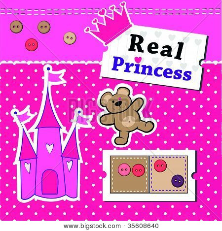 Scrapbook elements for Real Princess