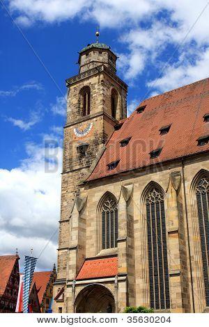 St. Georg church, Dinkelsbuehl