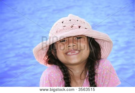 Little Girl By The Water