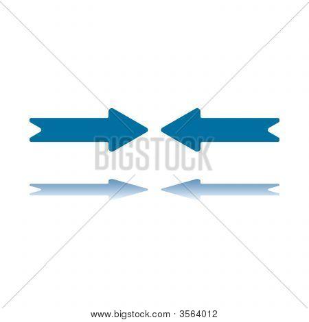 Horizontal Arrows Meet