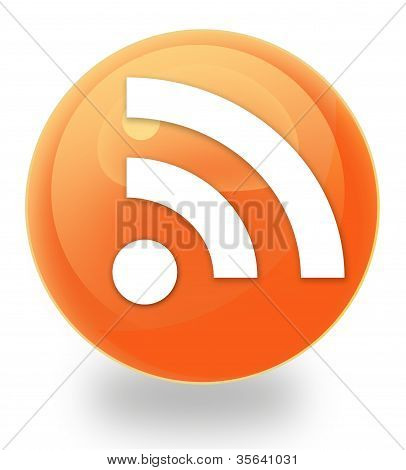 Rss orb icon