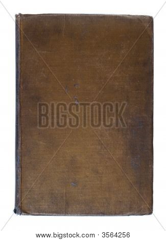 Grunge Vintage Linen Book Background
