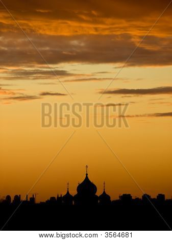 Sunset Over Moscow