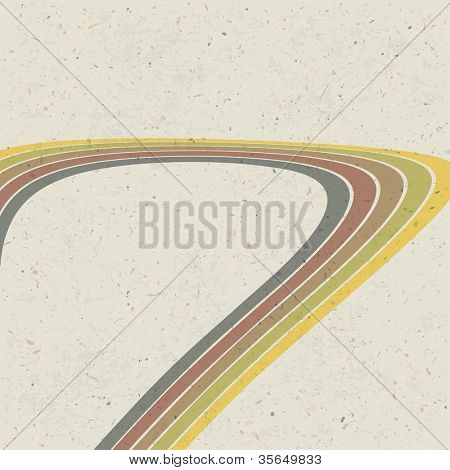 Retro lines abstract background. Raster version, vector file available in portfolio