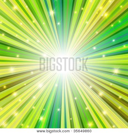 St. Patrick holiday themed background. Raster version, vector file available in portfolio