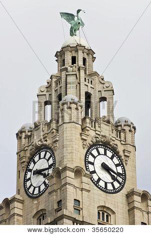 A Liver Bird On The Royal Liver Building