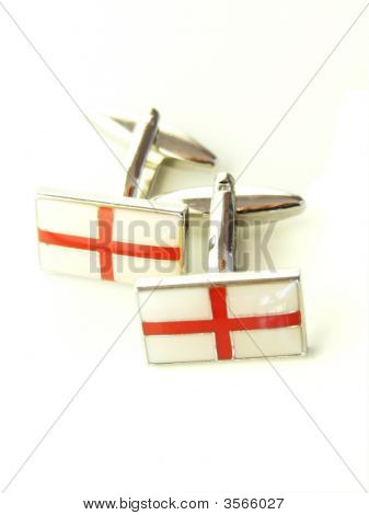 St George Cross Cuff Links