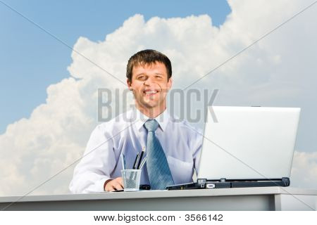 Handsome Professional