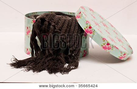 Box With Scarf