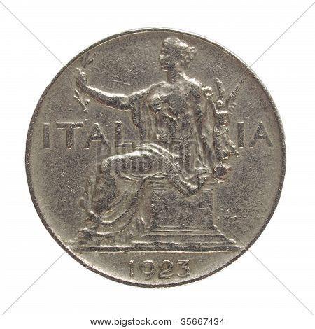 Italian Coin