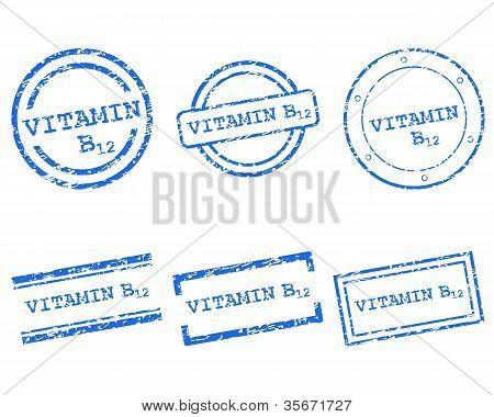 Vitamin B12 Stamps