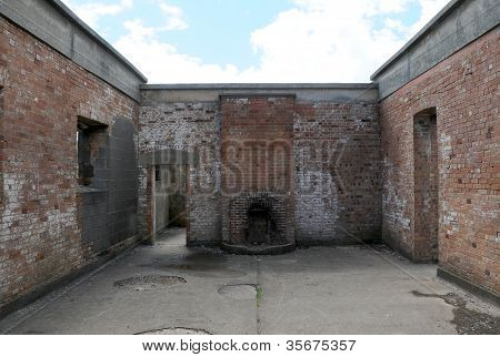 Roofless Derelict Building
