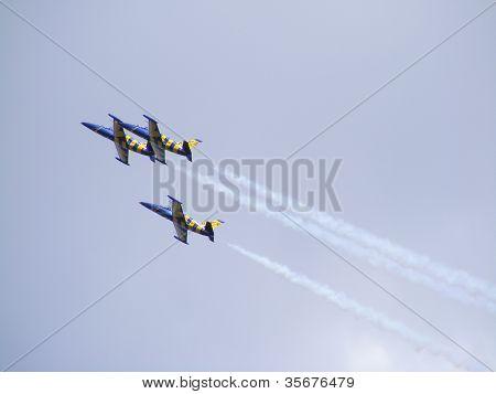 The Latvian Aerobatic Display Team The Baltic Bees