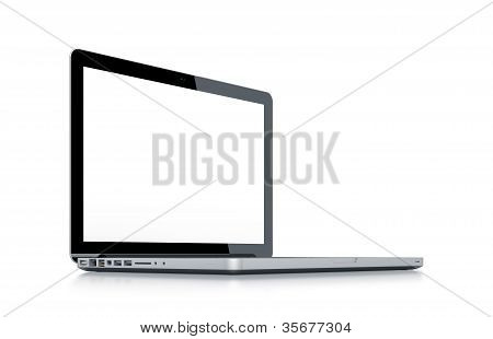 Modern Laptop.