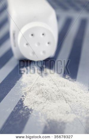 Spilled Baby Powder
