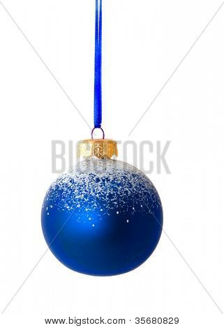 Christmas ornaments. Isolation on white
