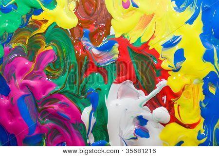 jadeando multi color textura de fondo