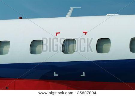 Windows of the plane