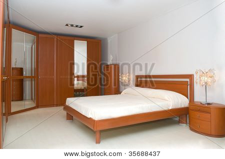 Bedroom an interior