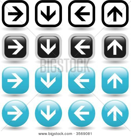Arrow Icon Set Arrow Icon Set