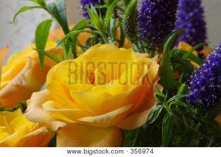 Yellow Roze Bouquet