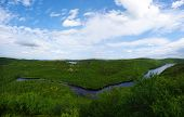 stock photo of murmansk  - Landscape of the polar summer tundra - JPG