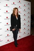 LOS ANGELES - AUG 2:  Sarah Rafferty arrives at the Carmen Steffens West Coast Flagship Store Openin