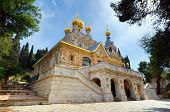 foto of magdalene  - The Church of Mary Magdalene in Jerusalem - JPG