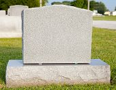 stock photo of tombstone  - Close - JPG