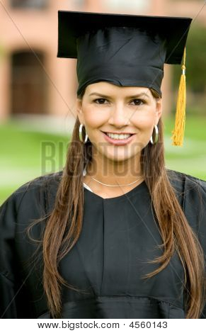 Abschluss Woman portrait