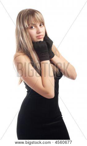 Lady In Little Black Dress