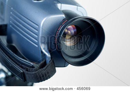 Lente de la cámara de video 2