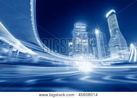 Megacity Autobahn In China
